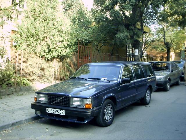 Предишната ми Машина Volvo 745 2.5 TDI