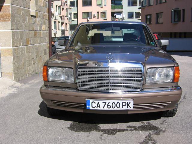 MB W126 260SE 01