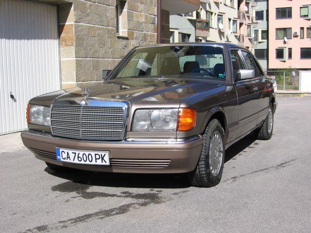 MB W126 260SE 02